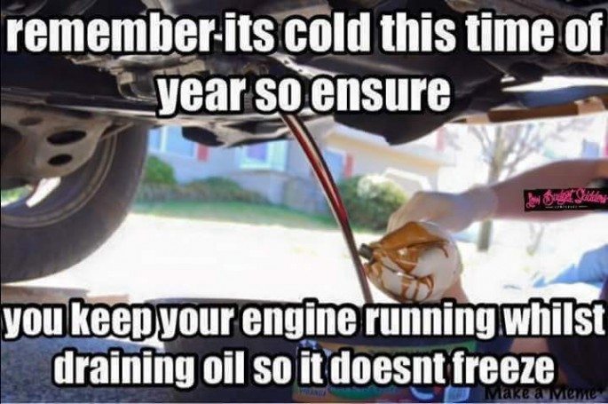 oil warm