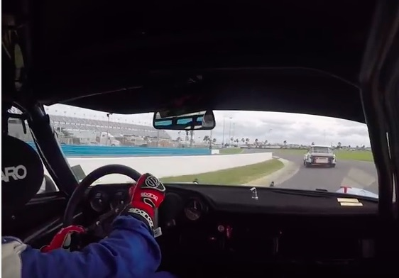 Ride Along With Bobby Rahal As He Hauls Around Daytona In A Porsche RSR – Legend!
