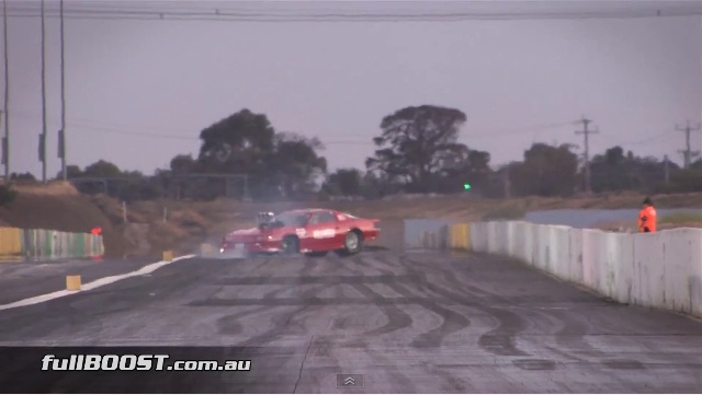 Classic YouTube: Watch As This Six-Second Camaro Gets Loose And Goes Spinning At Calder Park