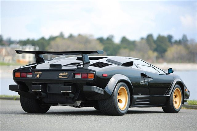 Bangshift Com The Lamborghini Countach The Only Supercar