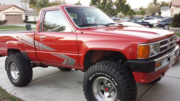 Bangshift Com This 1 Owner 1988 Toyota 4x4 Is So Throwback