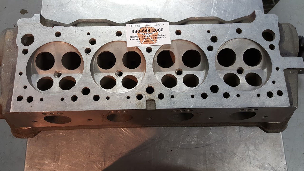 """Ebay Find: Is This 4-Valve Head One Of The Sold-Off Chrysler """"A-925 Project"""" DOHC Hemi Heads?"""