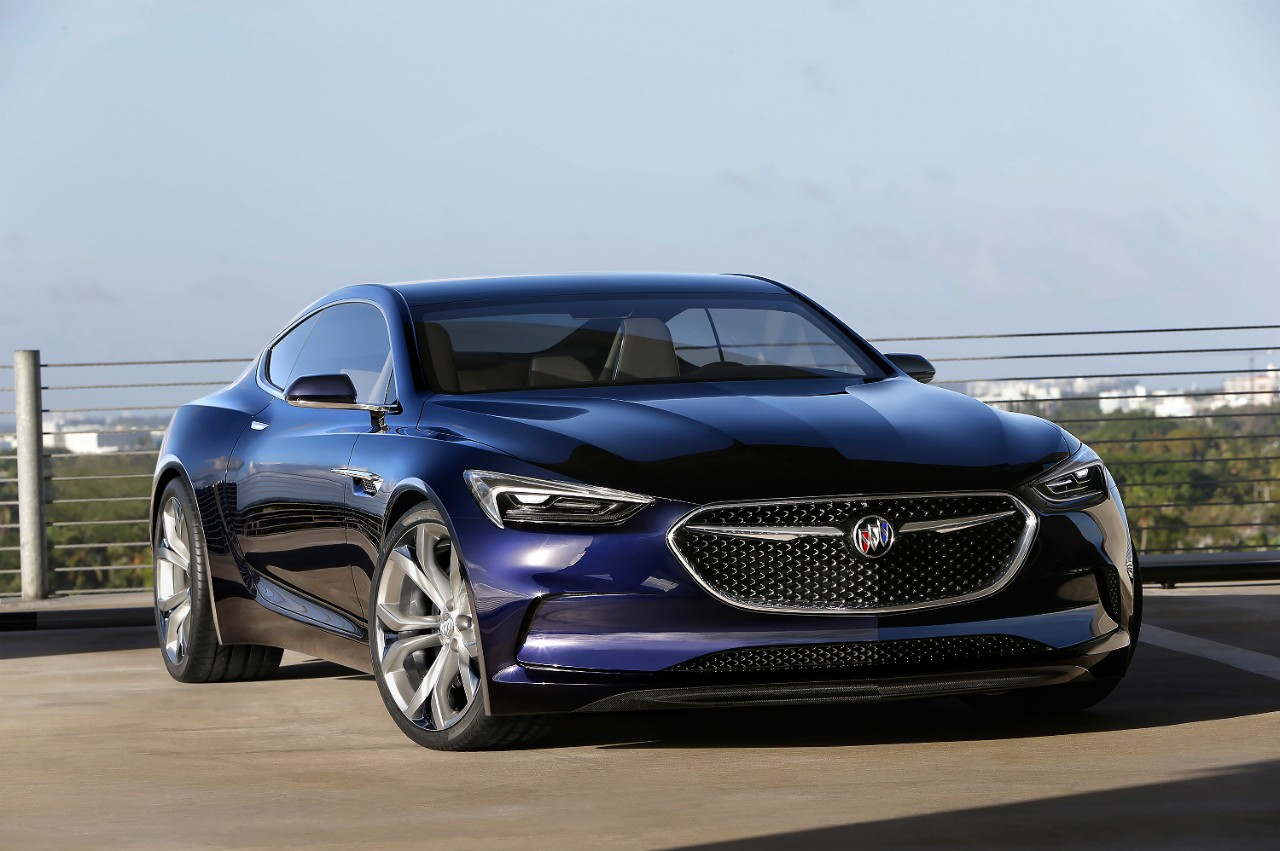 Breaking News: Buick Unveils The Avista Concept Coupe – 400 Horsepower Twin-Turbo V6, Rear Wheel Drive, And It's A True Hardtop!