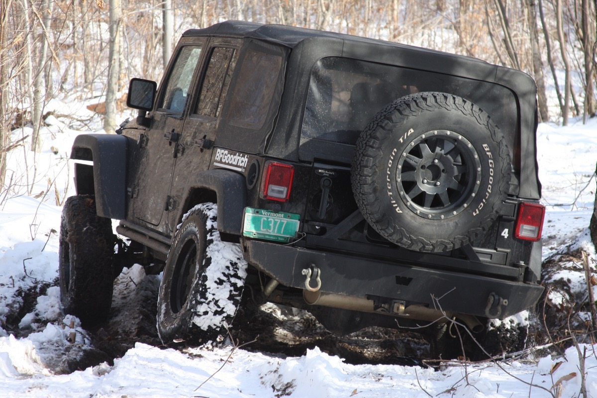 Tire Slog: We Test The BFGoodrich All-Terrain T/A KO2 In Muck, Mire, and Snow