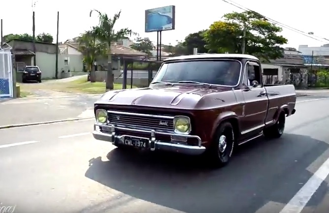 This Video Featuring A 1970s Chevy C10 From Brazil Proves How Universal Hot Rodding Is