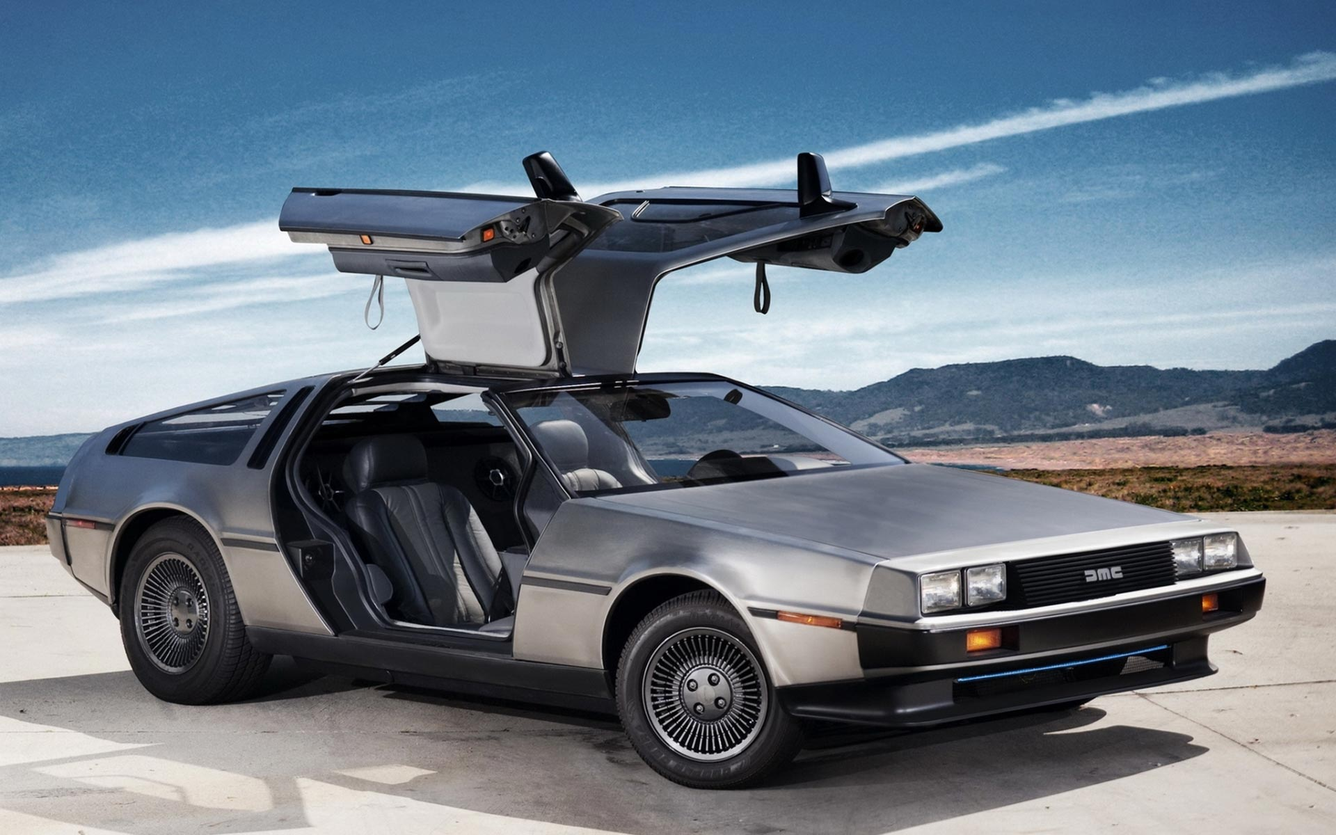 Good News! The DeLorean DMC-12 Is Going Back Into Production! All-New 1982 Stainless Steel Wonders For Sale!