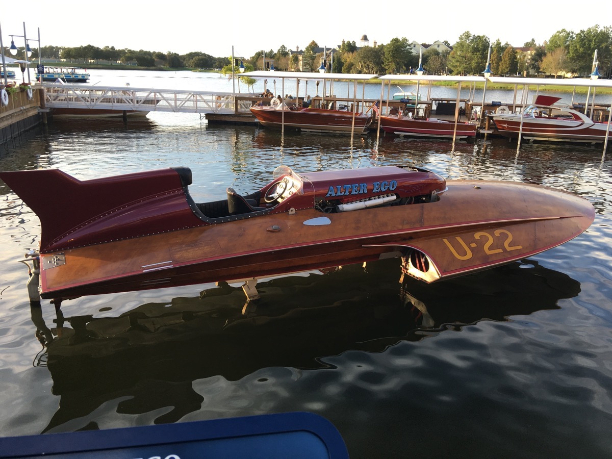 Best of 2016: BoatShift: This Collection Of Historic Hot Rod Boats At Disney's Boathouse Blew Us Out Of The Water