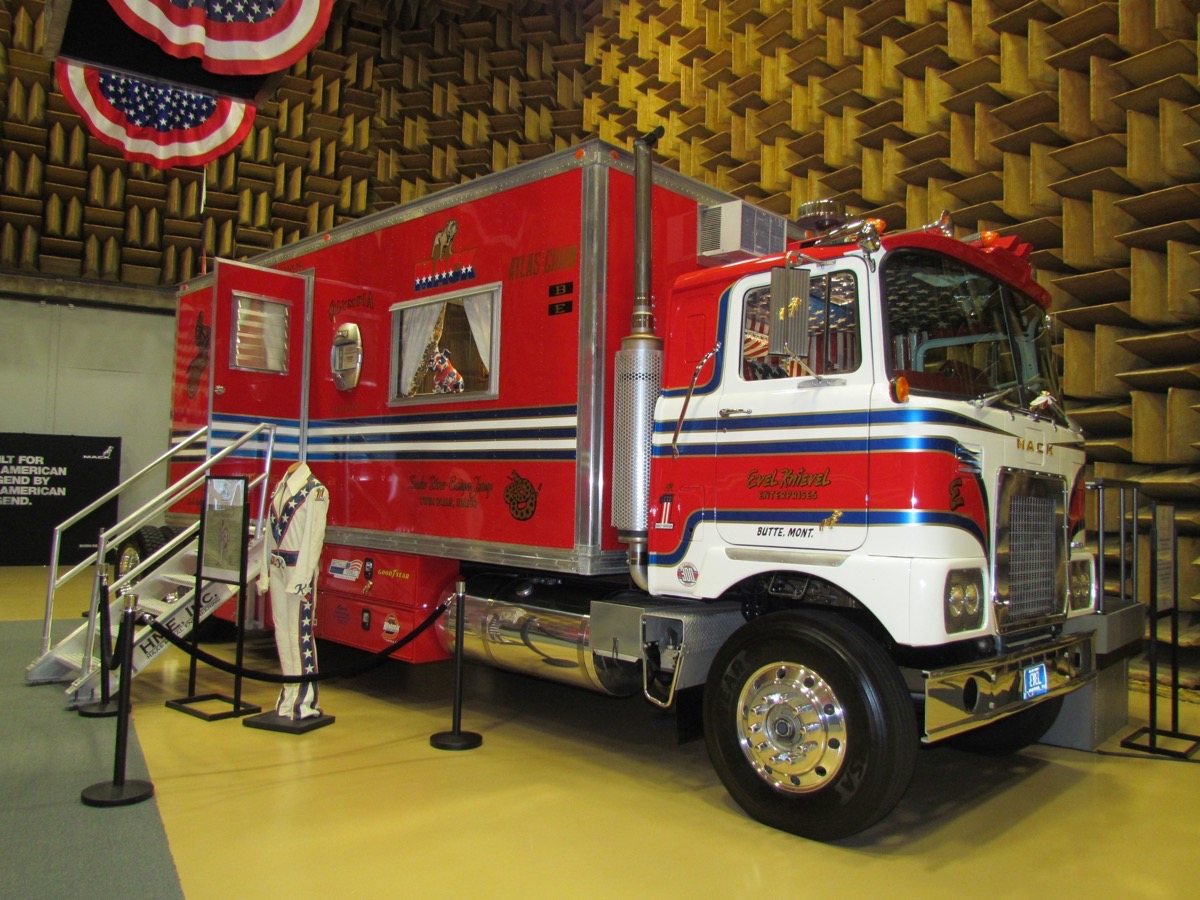 Truck Feature: Evel Knievel's 1974 Mack FS786LST Is A Thing Of Total Wonder