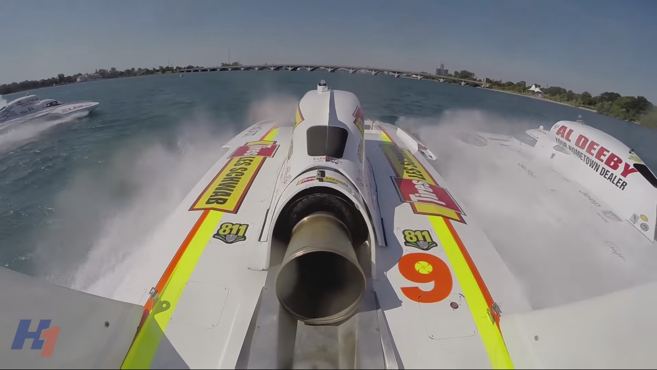 BangShift com Unlimited Hydroplane racing is an incredible
