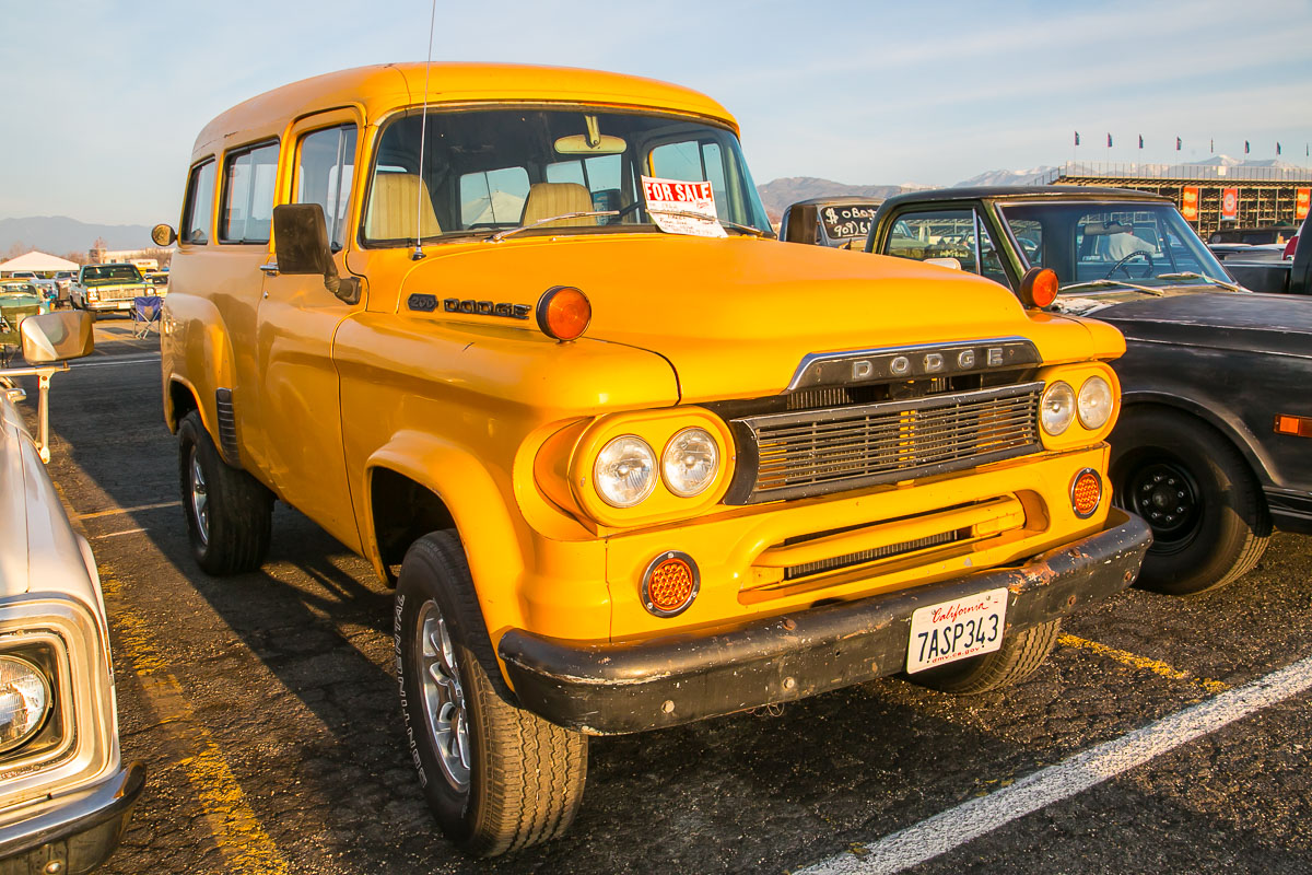 Pomona Swap Meet Coverage: The Cool SoCal Cars, Trucks And Stuff Just Keep On Rolling