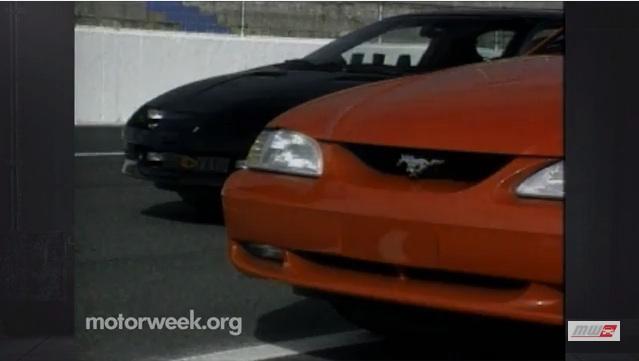 Classic YouTube: Mustang Vs. Camaro, 1994, Courtesy Of Motorweek!