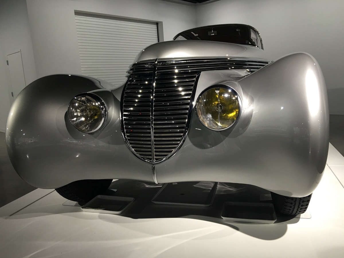 Petersen Automotive Museum Photo Tour – The Cars On Display Above Ground In The Museum