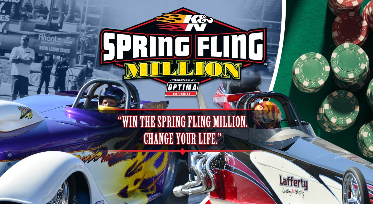 Enter Before Midnight Sunday Jan. 31 To Win An Entry Into The Spring Fling Million Drag Race