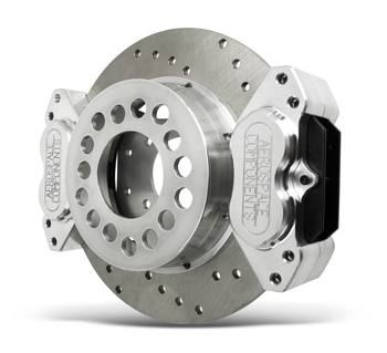 Aerospace Components Dual Rear Brake Systems Delivery More Stopping Power, Control, and Holding Ability