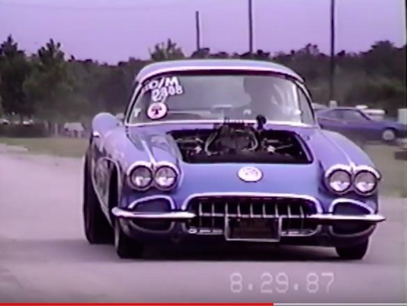 Watch This Super Stock D/Modified Corvette Attack Orlando Speed World In '87 – Huge Revs, Bang Shifting!