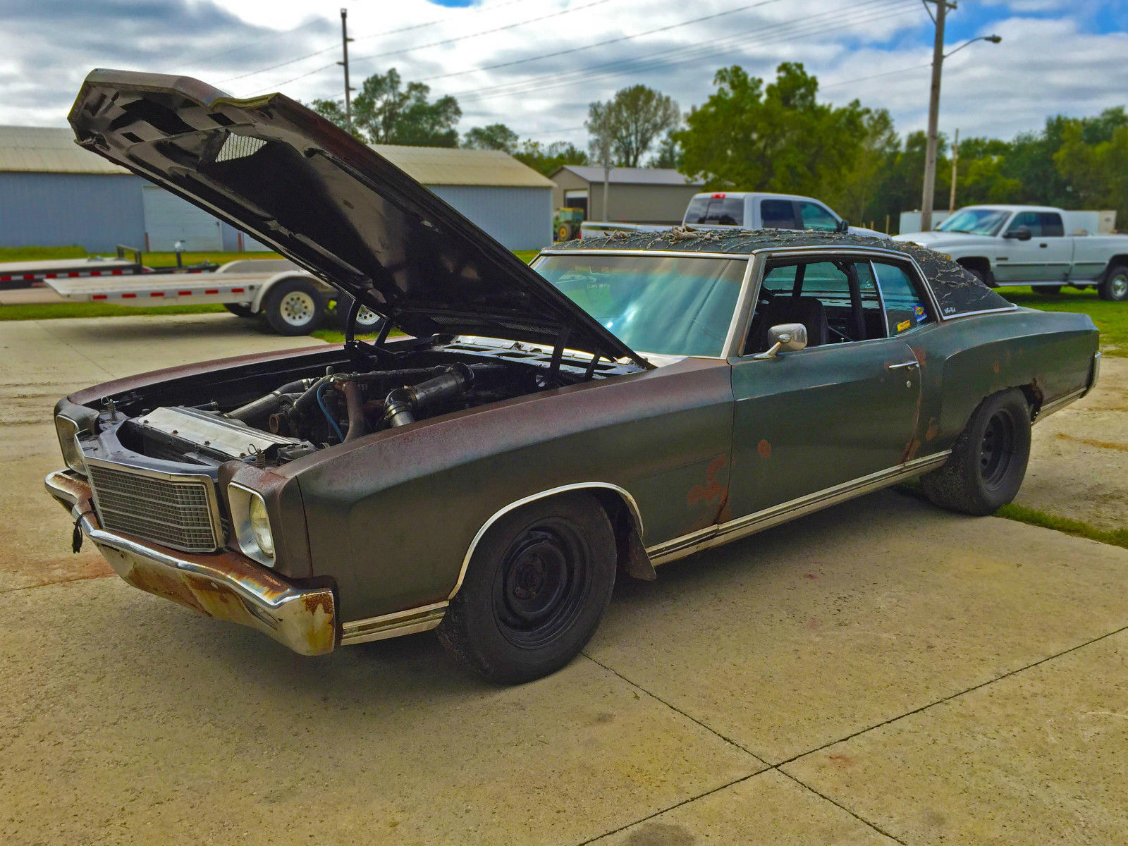 BangShift This 1971 Monte Carlo is powered by a Cummins sel