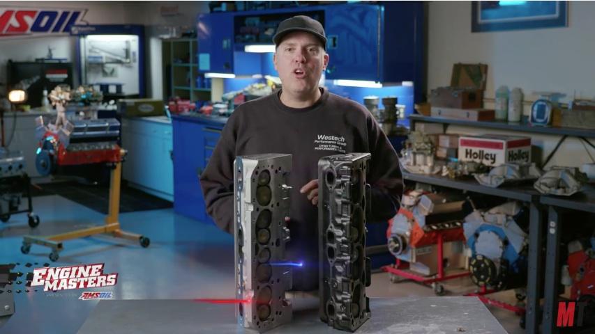 BangShift com Engine Masters Tests CNC-Ported Heads Against