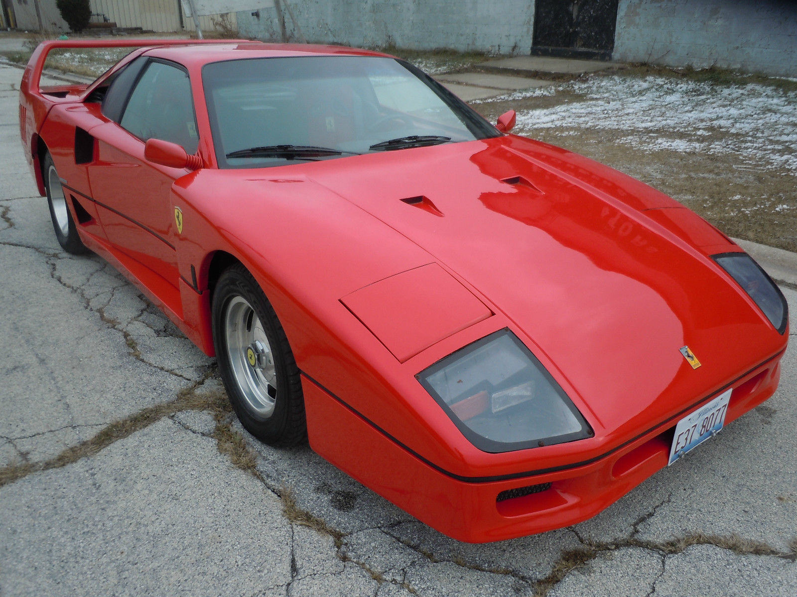 BangShift.com ferrari F40 kit car for sale on eBay