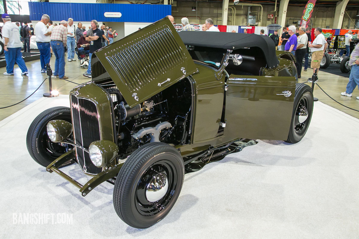 The Winner Of America's Most Beautiful Roadster 2016 Is Darryl Hollenbeck's 1932 Ford Roadster