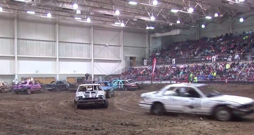 Indoor Figure Eight Racing Is An Idea That Is Both Brilliant And Mental Simultaneously