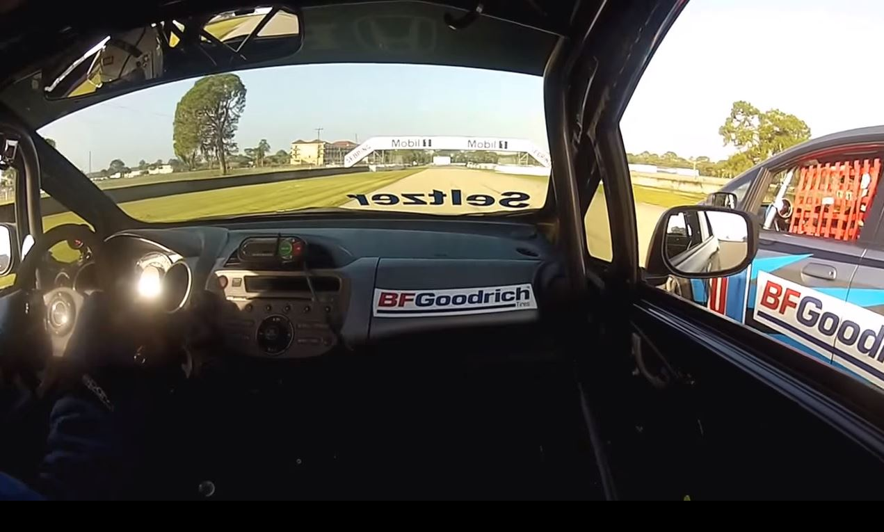 Want To Know How To Drive A Slow Car Fast? Watch These Guys Put On A Clinic! Awesome Battle