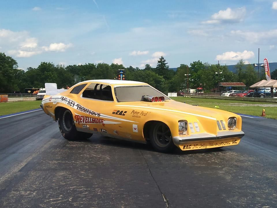 Quick Blast: A Collection Of The Stranger Funny Cars Of The Seventies!
