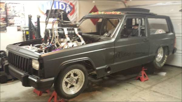 A 14-71 Blower On A Jeep Cherokee? Yep, Sounds Pretty Perfect To Us Too. Check It Out!