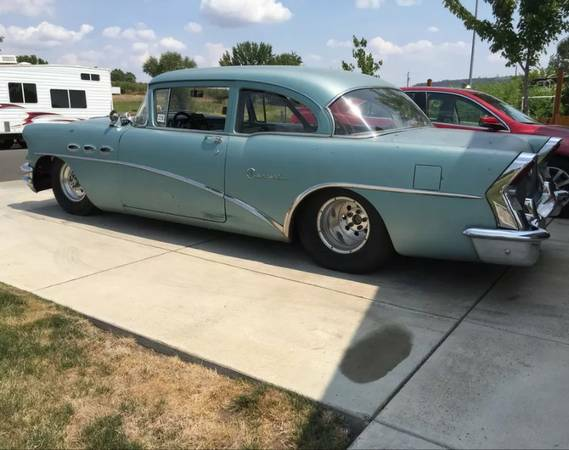 BangShift com This Pro Street 1956 Buick Is Rocky Mountain Race Week