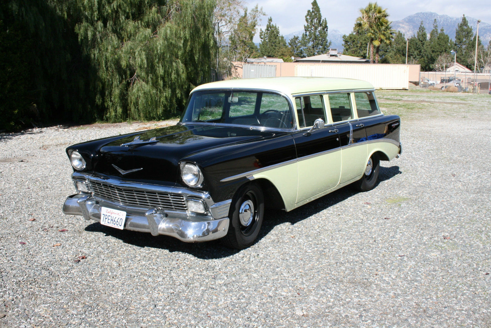 This 1956 Chevy Station Wagon Would Be The Perfect March Meet Cruiser Or Cackle Push Car!