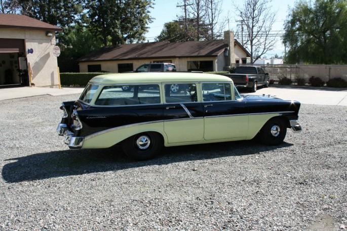 1956 Chevy Station Wagon 7