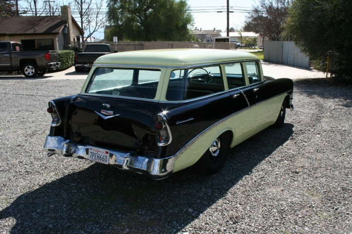 1956 Chevy Station Wagon 8