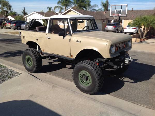 BangShift com This 1963 Scout 80 Is Killer With Fullsize GM Axles
