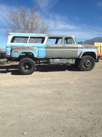 BangShift com This Might Be The Coolest 1966 GMC Suburban