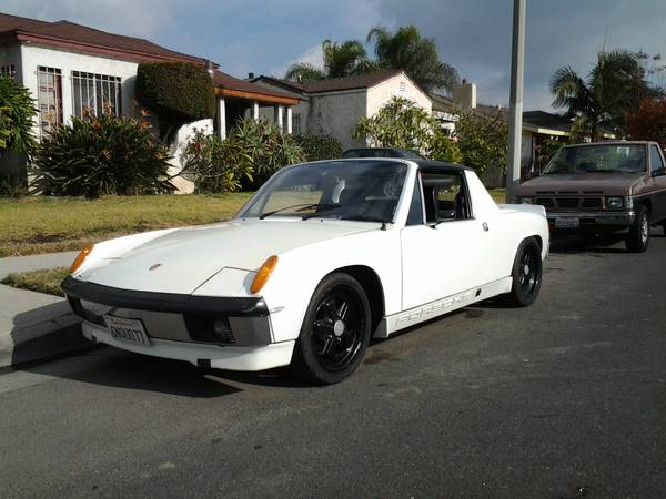 This 1972 Porsche 914 Could Be A Riot On The Autocross