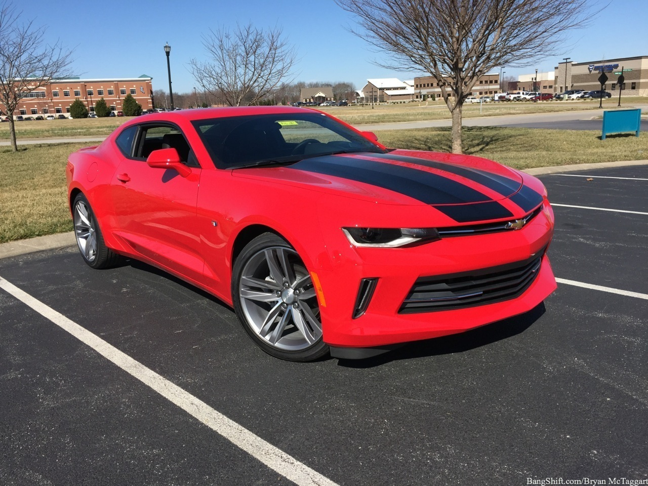BangShift.com Test Drive: 2016 Chevrolet Camaro RS 2LT V6: How Is The Sixth-Generation Camaro In ...
