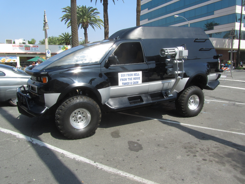 movie truck freak check out this weird custom truck used in the movie tango and. Black Bedroom Furniture Sets. Home Design Ideas