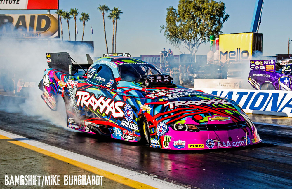Force, Brown & Butner Lead Friday Qualifying At NHRA Phoenix!