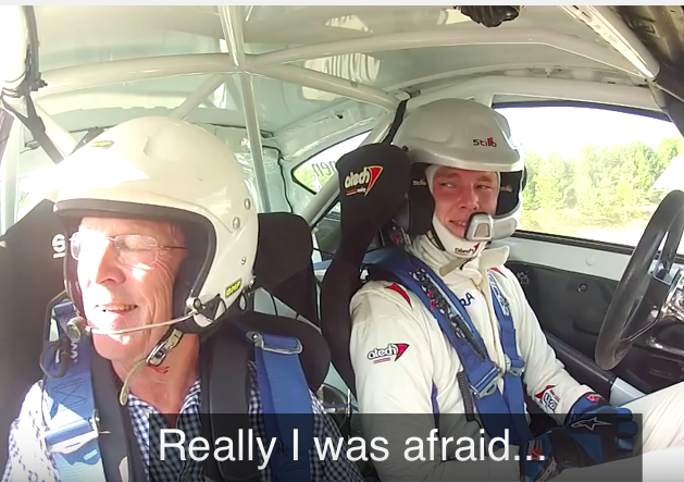 Watch Second Generation Rally Racer Max Vatanen Scare His Legendary Dad Ari Half To Death In A Rally Car