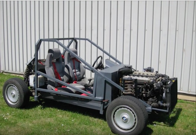 Bimmer Kart: This V12 Powered Rig Looks Fun! Why Has No One Made A Race Series Yet?