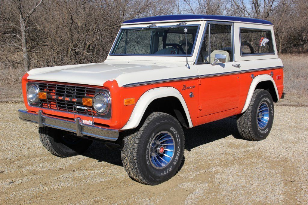 Would You Pay 75000 For A Rare Bronco Themed Ford On Super Bowl Sunday