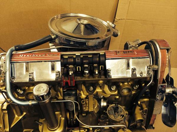 BangShift com Craigslist Find: A Cut-Away Pontiac OHC-6 Engine! How