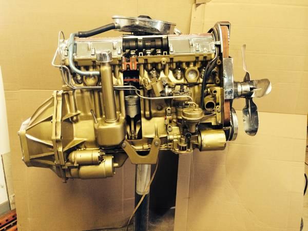bangshift craigslist find a cut away pontiac ohc 6 engine how cool is this bangshift