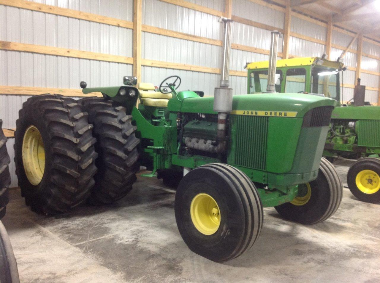 Muscle Tractor: This John Deere 5020 Got A Detroit Diesel V8 Swap And Became A Plow Pulling Bruiser