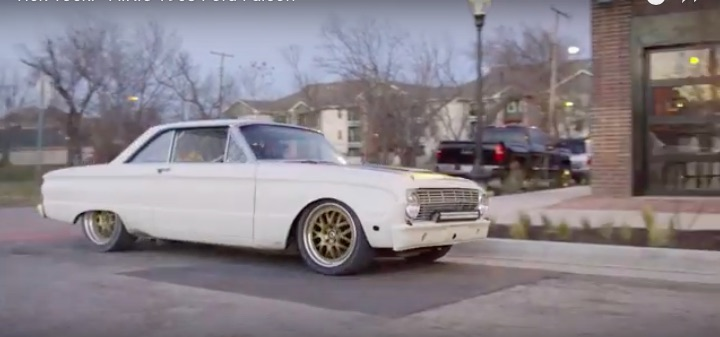 Great Video: Watch Gas Monkey's Aaron Kaufman Hammer On His 1963 Falcon In Tick Tock