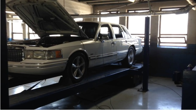 Bangshift Com Best Of 2016 A White 1993 Lincoln Town Car That Is