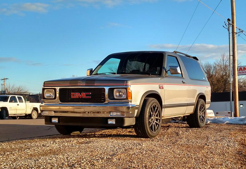 BangShift com Late-Model Restomod: A 1989 GMC Jimmy With A
