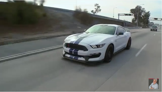 Jay Leno Takes Us On A Tour Of Not Just The Ford Mustang Shelby GT350R…But The GT350R That He Personally Bought!
