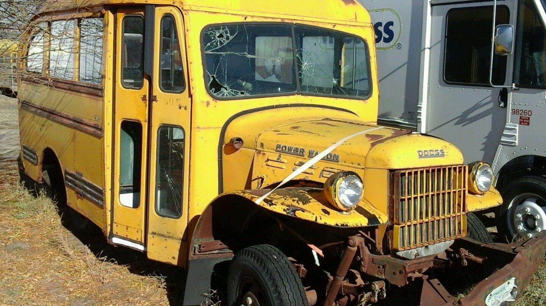 Bangshiftcom Dodge Power Wagon School Bus