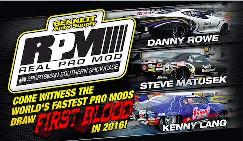 WATCH RIGHT HERE: The Real Pro Mod Association Winter Warm Today At 2pm EST