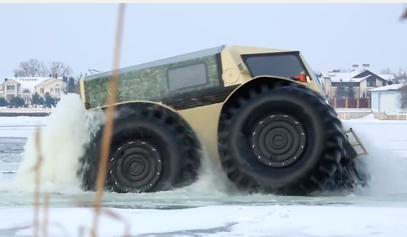 The Sherp Is A Weird And Unstoppable Russian Truck